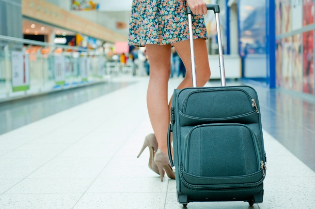 To save money as well as time spent at the airport, fly with carry-on luggage only