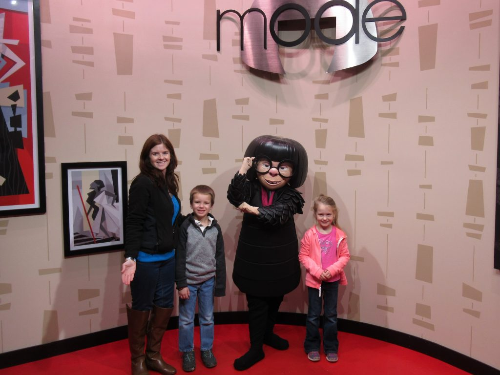 Make sure to pay Edna Mode a visit at the Incredible Celebration at Disney World's Hollywood Studios.