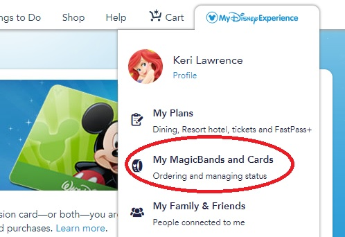 How To Link Your MagicBand in My Disney Experience