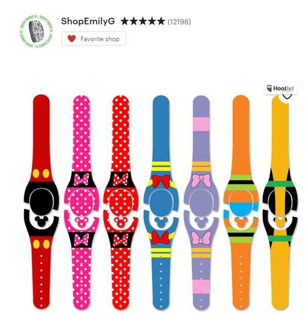 Personalize your MagicBand at an affordable price on Etsy with stores like ShopEmilyG