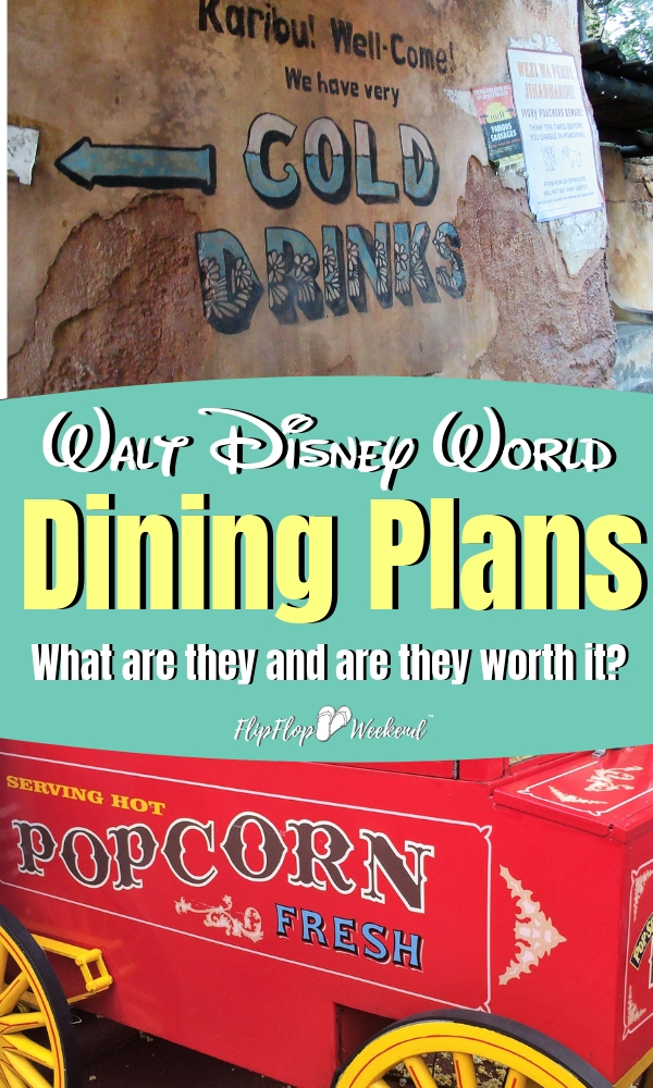 Food at Walt Disney World is definitely an expense you need to consider in your Disney planning budget, since it will likely take up a large portion of your wallet. A Disney Dining Plan may be a good option for your family. But what is the Disney Dining Plan...and is it worth it? #DisneyTips #WaltDisneyWorld #DisneyDining