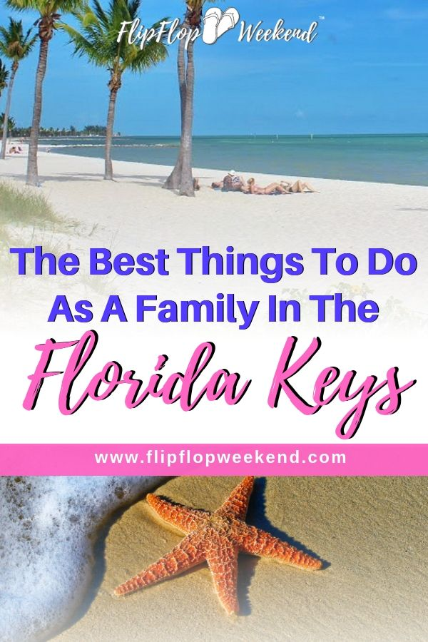 The Florida Keys are widely known as a vacation destination for fisherman, sunbathers, and college kids on spring break. Certain areas definitely cater to those crowds. But did you know that the Keys can also make a wonderful destination for a family vacation? There are plenty of activities and things to do as a family, even with small children on a #FloridaKeys vacation. #floridatravel #floridavacation #familytravel