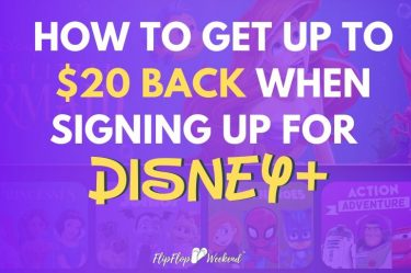 There is a money-saving hack when signing up for Disney+.This post explains how to earn up to $20 cash back on a Disney + subscription. #DisneyMovies