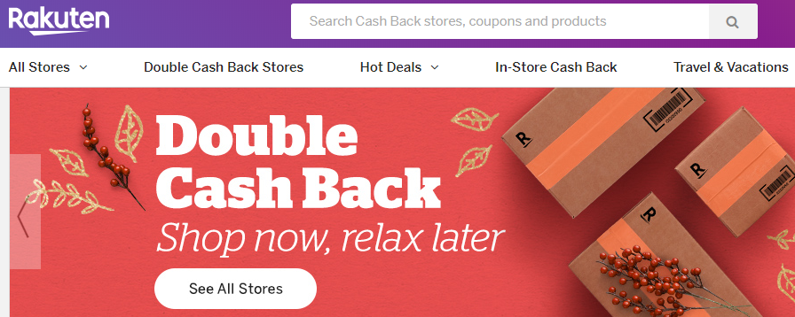 Click to sign up and earn $10 back from Rakuten
