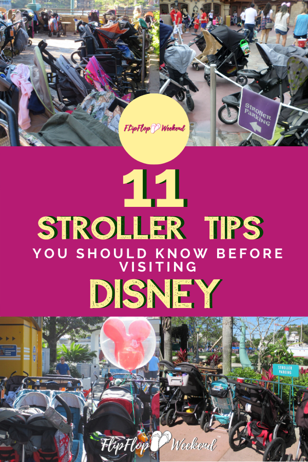 If you are visiting Walt Disney World with kids, these are tips you should know to manage your Disney stroller while on vacation.