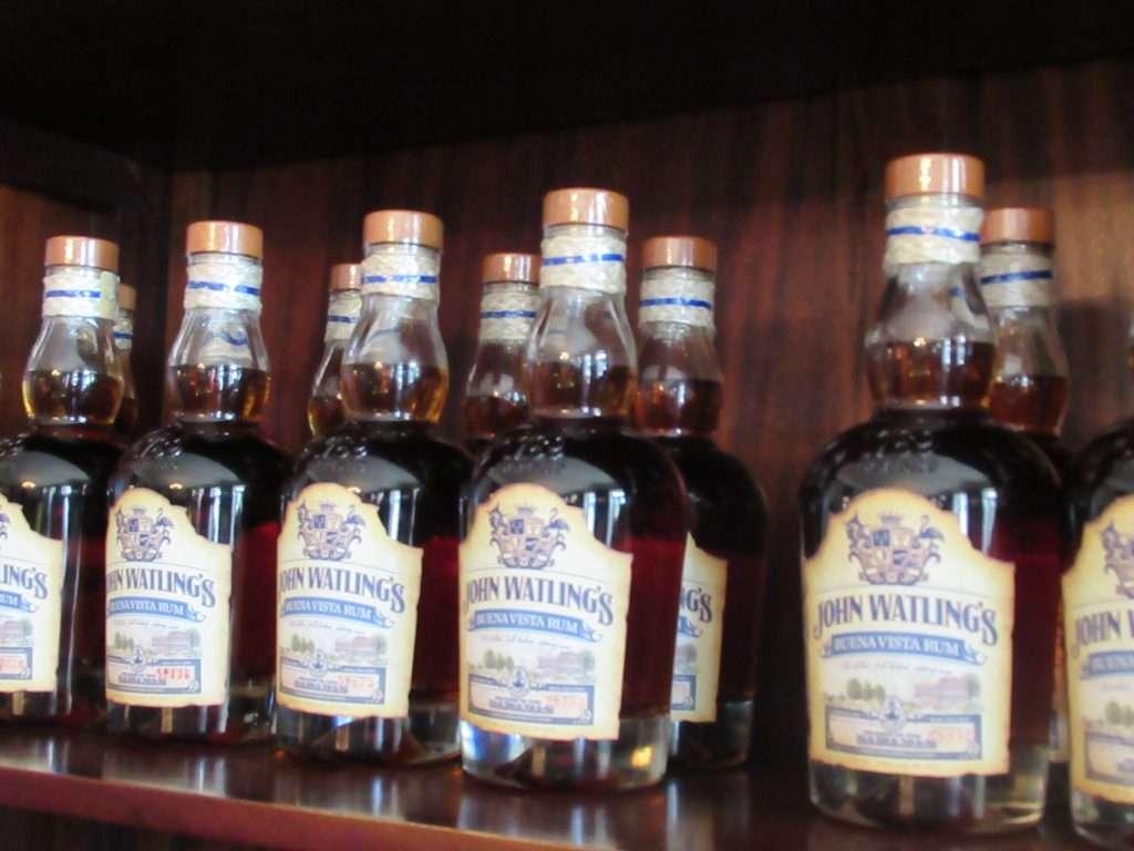 Rum at John Watling's Distillery