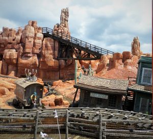 Big Thunder Mountain Railroad at Walt Disney World